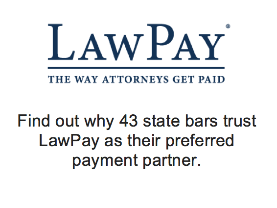 LawPay - The Way Attorneys Get Paid